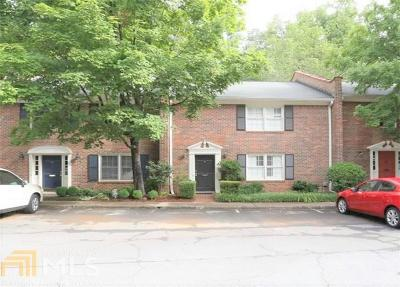 Decatur Condo/Townhouse For Sale: 1105 Clairemont Avenue #M