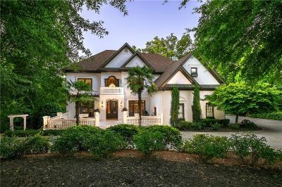 Suwanee Single Family Home For Sale: 6350 Haddington Lane