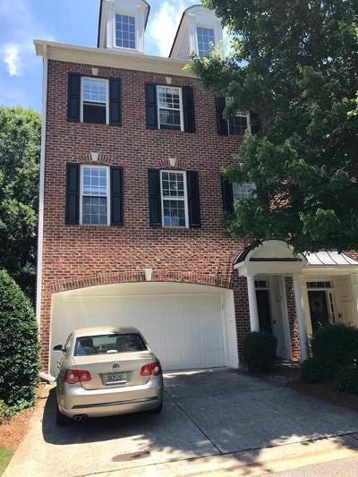 Roswell Condo/Townhouse For Sale: 3510 Waters Edge Trail
