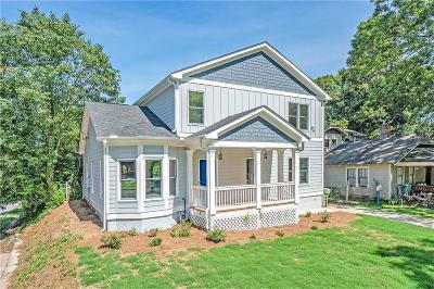 East Atlanta Single Family Home For Sale: 750 Brownwood Avenue SE