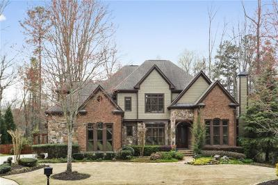 Roswell Single Family Home For Sale: 120 Robinwood Court