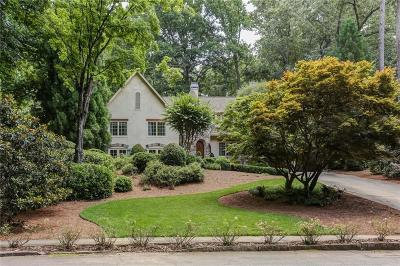 Brookhaven Single Family Home For Sale: 4506 Candler Lake East NE