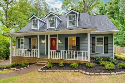 Roswell Single Family Home For Sale: 4714 Shallowford Road