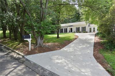 Atlanta Single Family Home For Sale: 419 Allison Drive NE