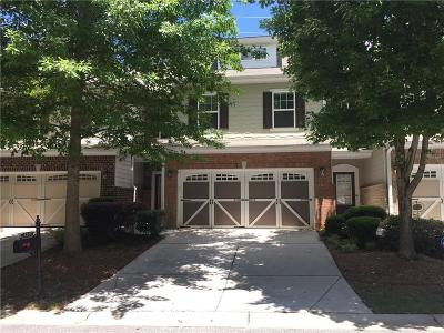 Cumming Condo/Townhouse For Sale: 2886 Cross Creek Drive