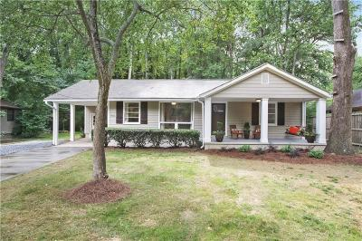 Brookhaven Single Family Home For Sale: 2716 S Bamby Lane NE