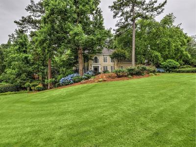 Marietta Single Family Home For Sale: 345 Lands Mill