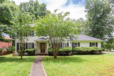 Dunwoody Single Family Home For Sale: 5130 Charmant Place