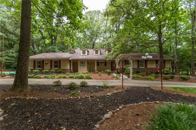 Grayson Single Family Home For Sale: 1529 Pinehurst Road