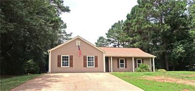 Acworth Single Family Home For Sale: 3996 Baywatch Landing NW