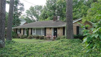 Atlanta Single Family Home For Sale: 302 Old Ivy Road NE