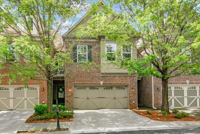 Peachtree Corners Condo/Townhouse For Sale: 3362 Norfolk Chase Drive #3362