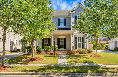 Suwanee Single Family Home For Sale: 4100 Lake Pass Lane