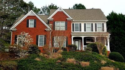 Suwanee Single Family Home For Sale: 3613 Lake Edge Drive