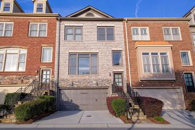 Sandy Springs Condo/Townhouse For Sale: 360 Mystic Ridge Lane