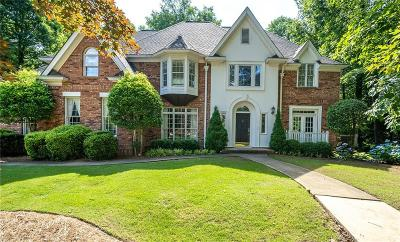 Kennesaw Single Family Home For Sale: 1136 Mossy Rock Road NW