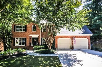 Acworth Single Family Home For Sale: 588 Braidwood Drive NW
