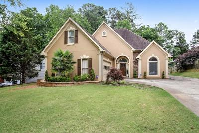 Kennesaw Single Family Home For Sale: 112 Lansing Drive NW