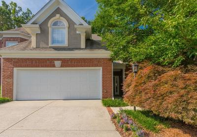 Atlanta Condo/Townhouse For Sale: 422 Brookview Circle NW