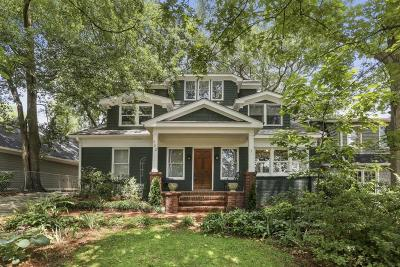 Garden Hills Single Family Home For Sale: 382 Peachtree Avenue NE