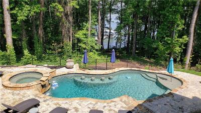 Walton County, Gwinnett County, Barrow County, Hall County, Forsyth County Single Family Home For Sale: 3019 Lanier Beach South Road