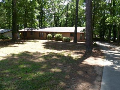 Lilburn Single Family Home For Sale: 1255 Lake Lucerne Road SW