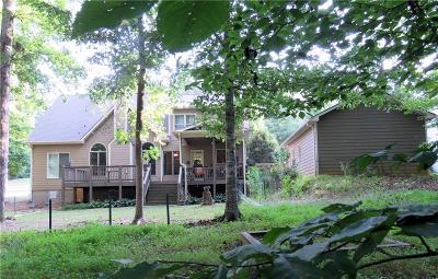 Dahlonega Single Family Home For Sale: 694 Bearslide Hollow