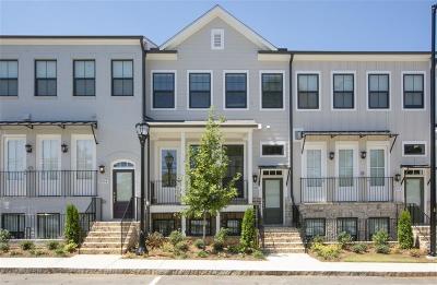 Atlanta Condo/Townhouse For Sale: 2032 Manchester Street #92