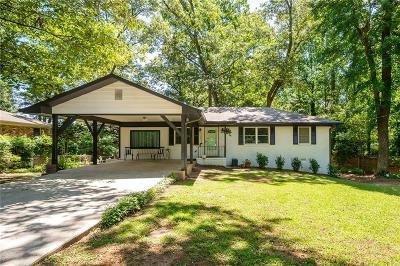 Smyrna Single Family Home For Sale: 3593 Drucilla Place SE