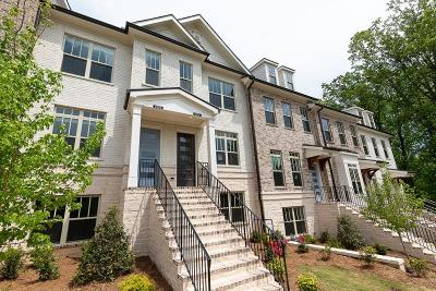 Atlanta Condo/Townhouse For Sale: 4215 Deming Circle