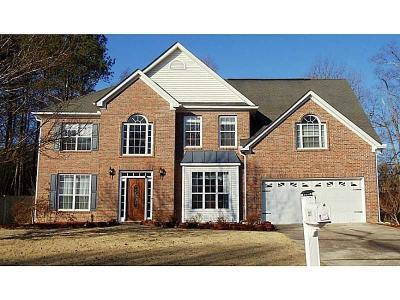 Marietta Single Family Home For Sale: 2831 Penncross Drive SW