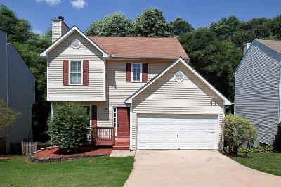 Acworth Single Family Home For Sale: 2186 Serenity Drive NW