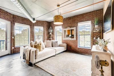 Atlanta Condo/Townhouse For Sale: 395 Central Park Place NE #350