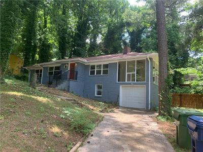 Atlanta Single Family Home For Sale: 2007 Highview Road SW