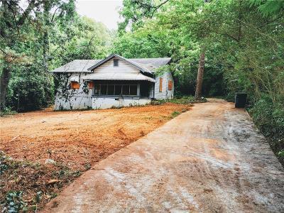 Single Family Home For Sale: 4014 Washington Road