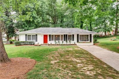 Brookhaven Single Family Home For Sale: 2621 Skyland Drive NE