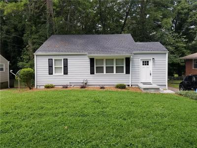 Hapeville Single Family Home For Sale: 3195 Hope Street
