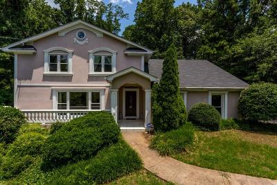 Sandy Springs Single Family Home For Sale: 275 NW Glen Lake Drive
