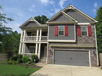 Canton Single Family Home For Sale: 258 Manous Way