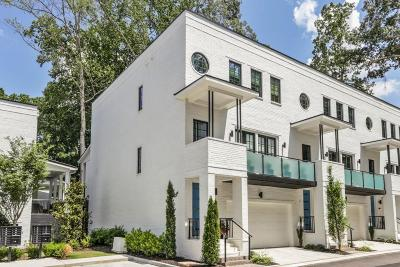 Druid Hills Condo/Townhouse For Sale: 1493 Red Fox Drive