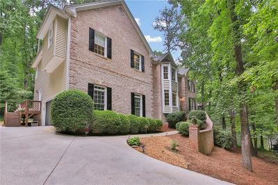 Kennesaw Single Family Home For Sale: 3537 Club Drive NW