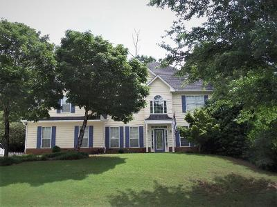 Suwanee Single Family Home For Sale: 4023 Rosewood View Drive