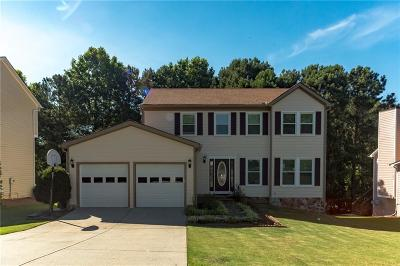 Alpharetta Single Family Home For Sale: 5445 Taylor Road