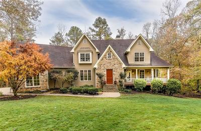 Alpharetta Single Family Home For Sale: 2190 Hickory Hill Road
