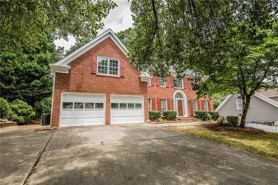 Acworth Single Family Home For Sale: 567 Delphinium Boulevard NW