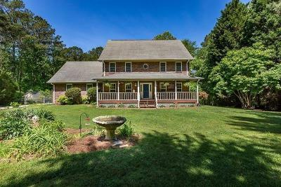 Acworth Single Family Home For Sale: 1535 Mars Hill Road