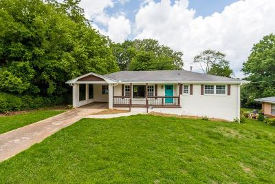 Decatur Single Family Home For Sale: 2762 Toney Drive