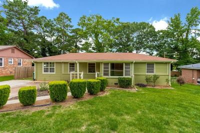 Decatur Single Family Home For Sale: 2786 Toney Drive