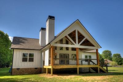 Ellijay Single Family Home For Sale: 302 Cartecay River Run