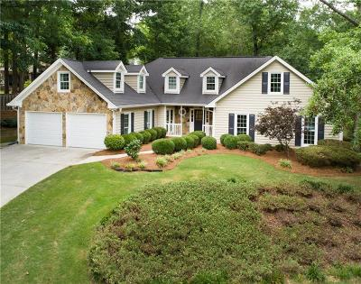 Acworth Single Family Home For Sale: 5794 Brookstone View NW